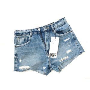 NWT Zara Denim Shorts